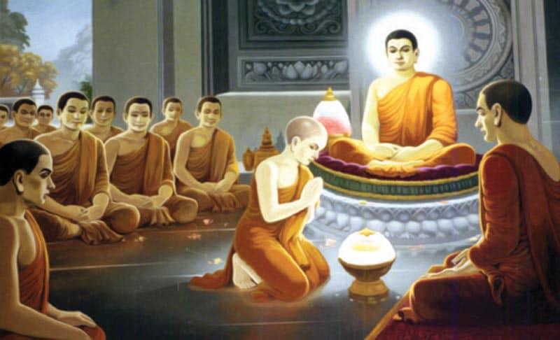 Đức Phật Dậy Ngài La Hầu La