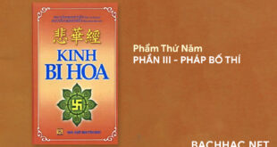 KINH BI HOA - PHẨM THỨ NĂM - PHẦN III - PHÁP BỐ THÍ