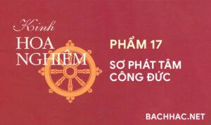 Kinh Hoa Nghiêm - Phẩm 17 - SƠ PHÁT TÂM CÔNG ÐỨC